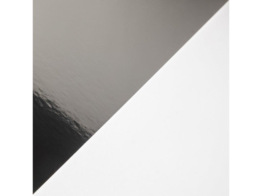 Mirror Board, 300 g, 72 x 102, zrcadlová stříbrná