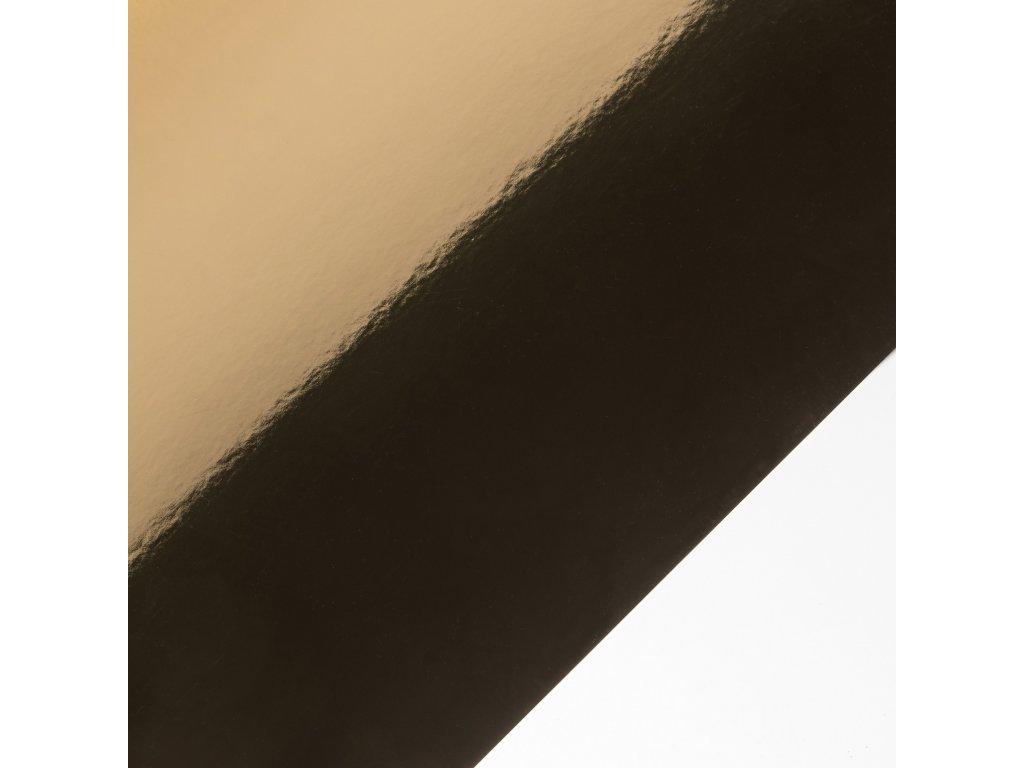 Mirror Board, 300 g, 72 x 102, zrcadlová zlatá