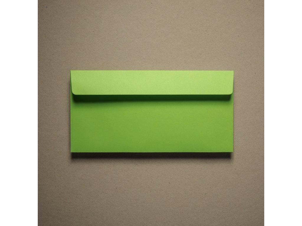 Obálka, DL, IQ color, spring green, 120 g