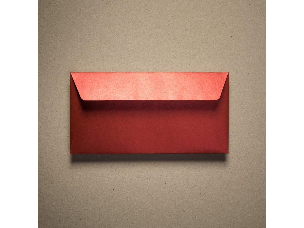 Obálka, DL, Majestic Satins Red, 120 g