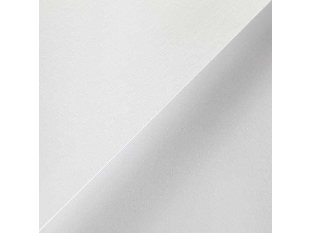 Plike White, 330g, 72x102, bílý pogumovaný