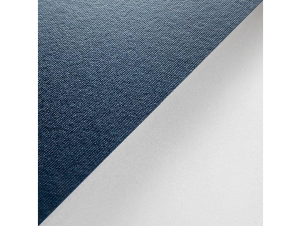 Twill, 360 g, 72 x 102, indigo modrá