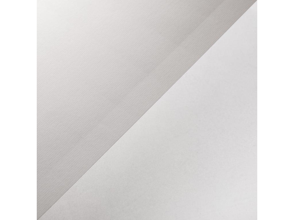 Samolepka Laid White, 80 g, SRA3, ražená bílá