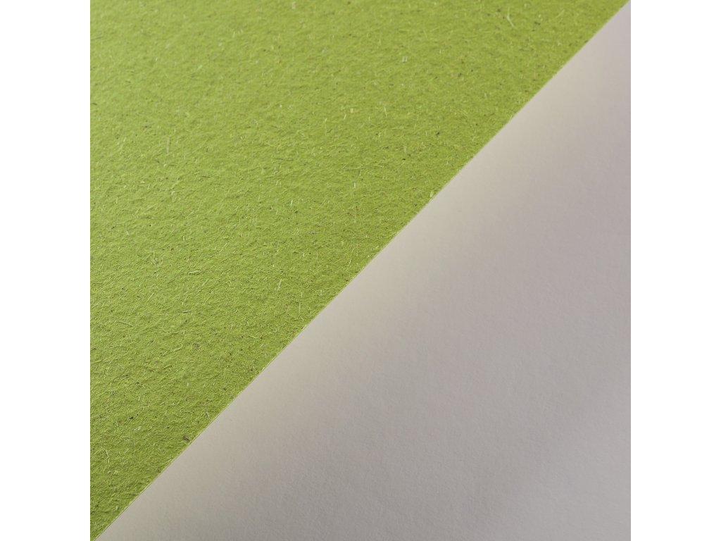 Gmund Bio Cycle, 300 g, Chlorophyll – zelená s trávou