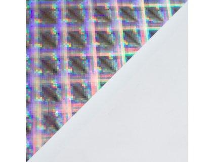 Samolepka holografická, A4, Warp 10