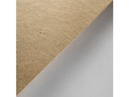 Grau karton, 600 g, 1 200 x 800, recykl, přírodní