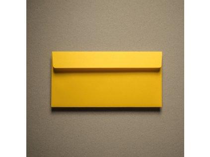 Obálka, DL, Rainbow, 80 g, žlutá