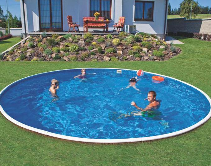 Bazén Azuro, průměr 4,6m v hodnotě 12.590,- Kč