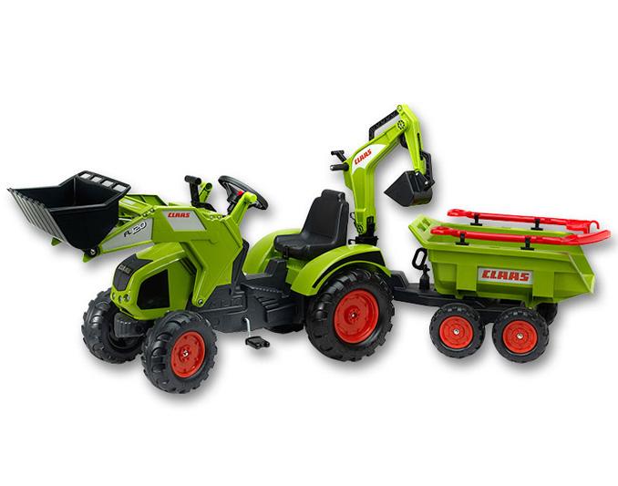 Šlapací traktor s bagrem v hodnotě 7.990,- Kč