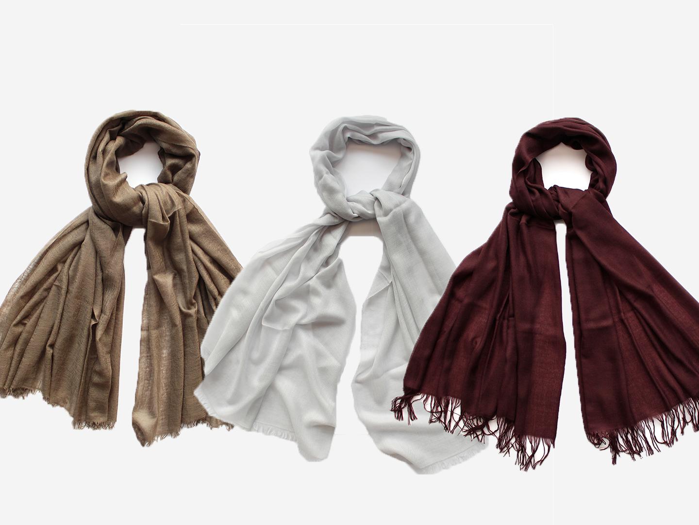 Rozdíly mezi šálami v naší nabídce
