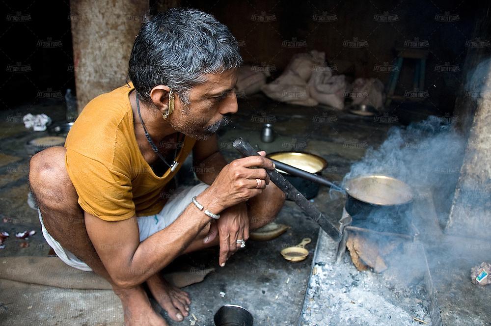Masala Chai Preparation