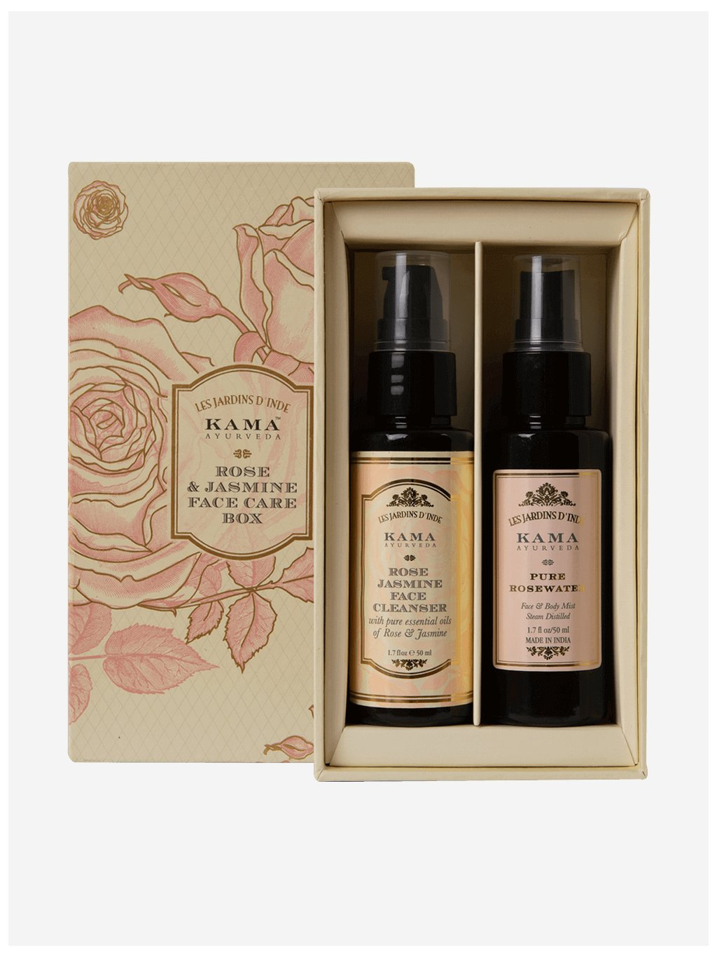 kama 0069 rose and jasmine face care box combined itm00330 3 l