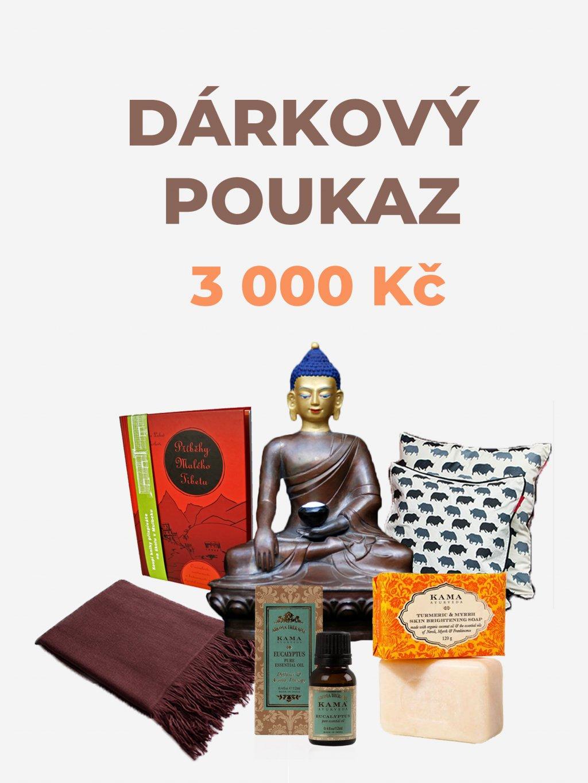 Dárkový poukaz - 3 000 Kč