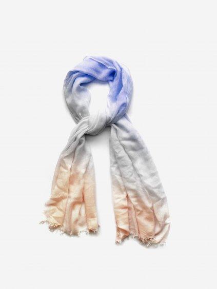 Prstýnkový lehký kašmír - barva libovolná na objednávku