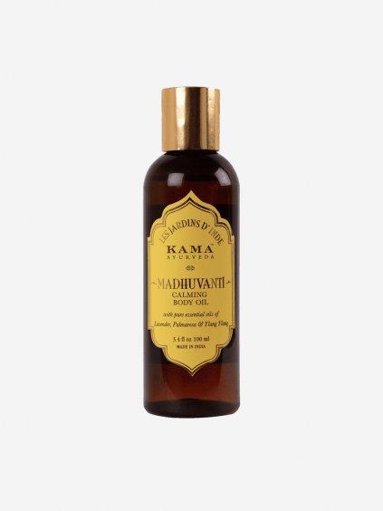 480 kama 0125 madhuvanti calming body oil 100ml bottle itm00187 min png