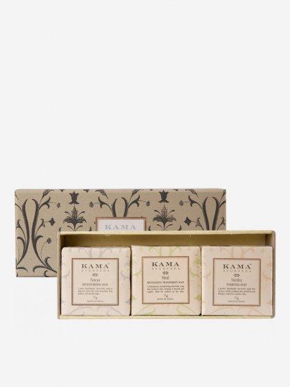 kama 0082 pure ayurvedic soap box combined itm00293 3