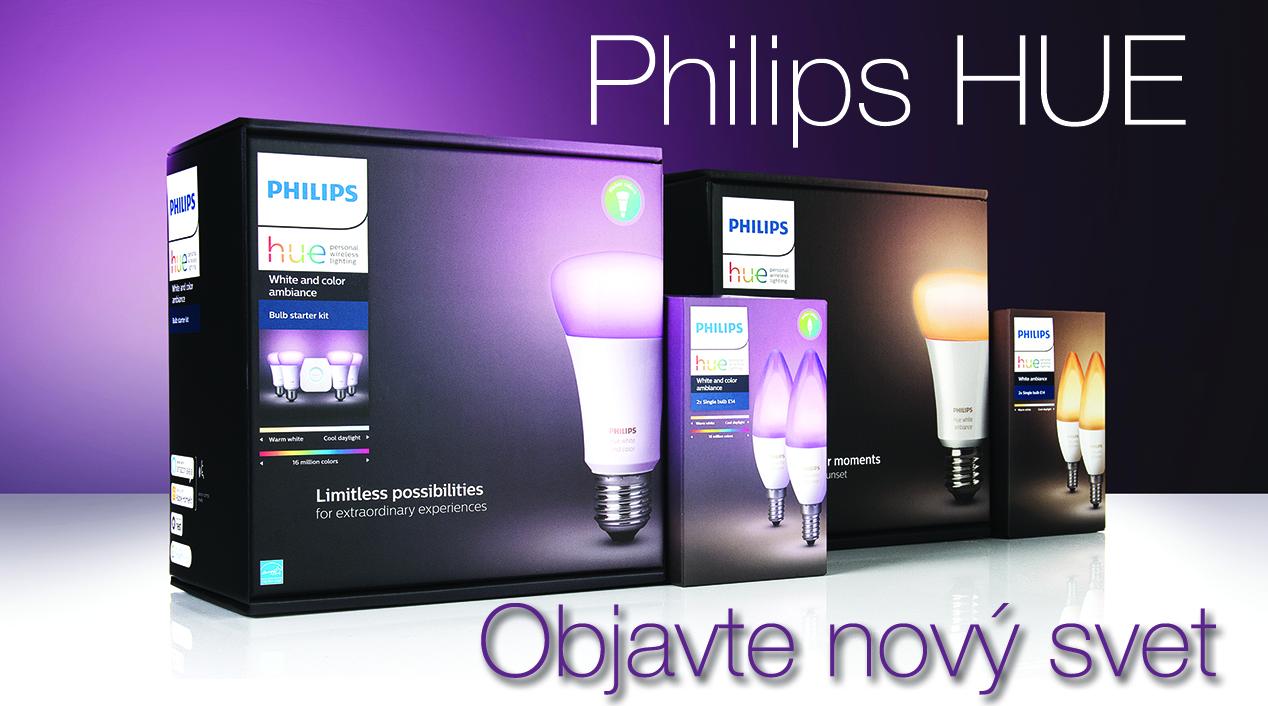 Philips HUE v ponuke