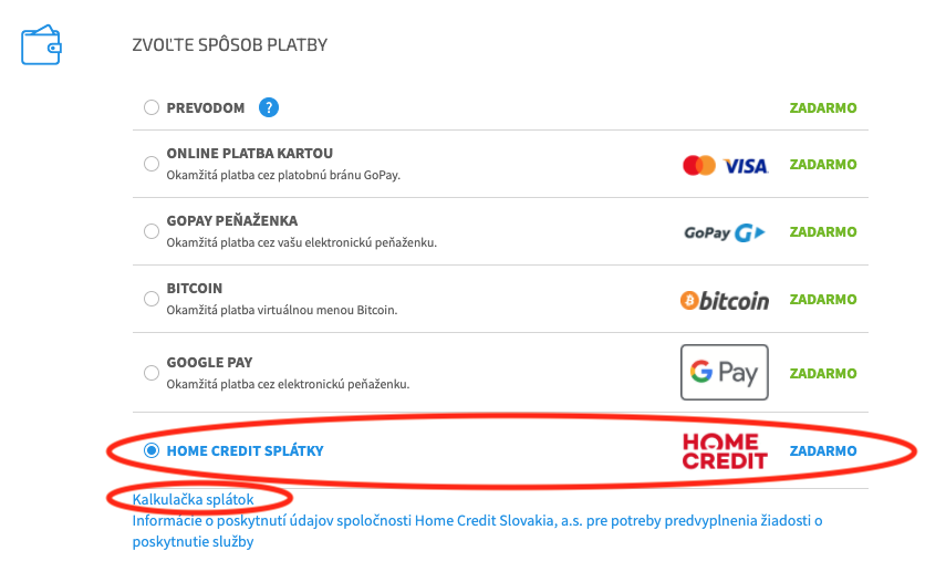Home credit smart home
