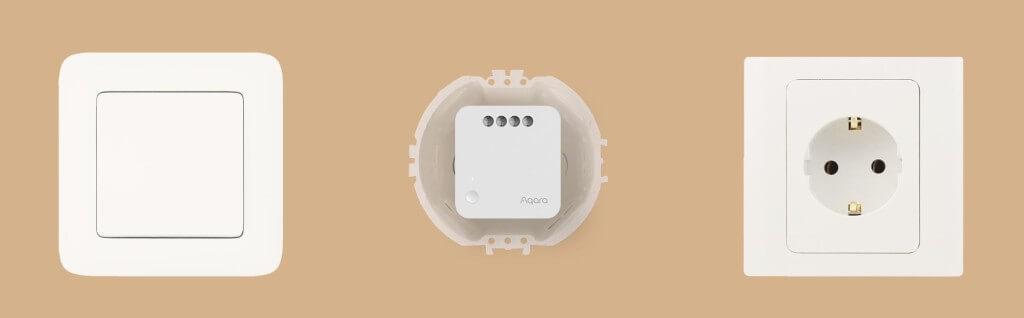 Aqara smart switch zapojenie