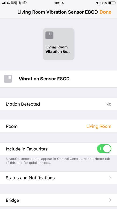 Aqara Zigbee senzor vibrácií