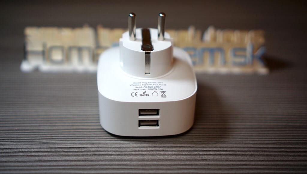 Smart Zásuvka s USB