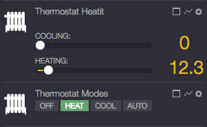 Smart termostat HeatIT Z-Therm 2 v systéme Zipato