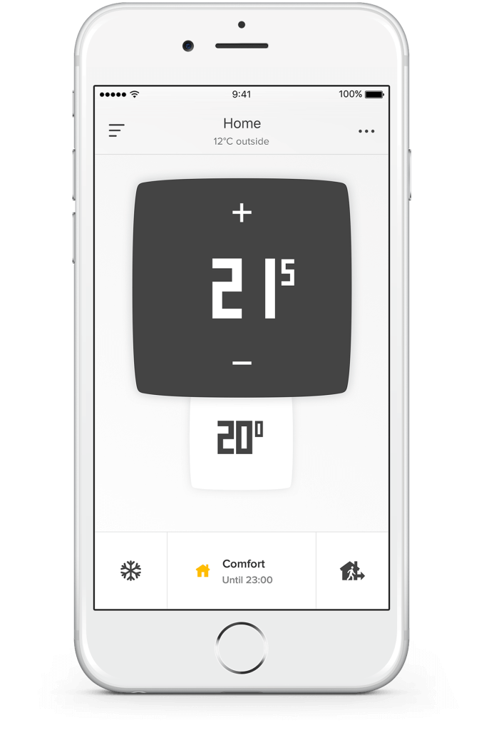 Netatmo termostat aplikácia