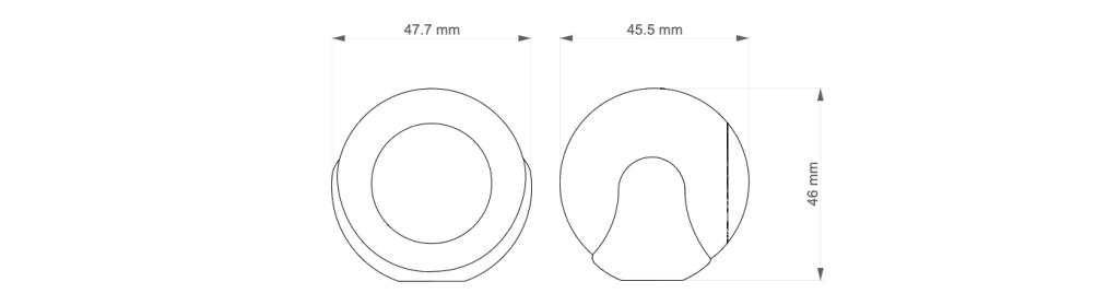 Rozmery Fibaro pohybový senzor Homekit