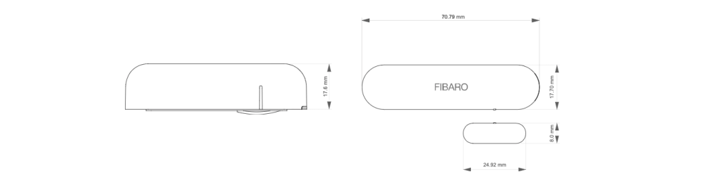 Senzor dverí FIBARO