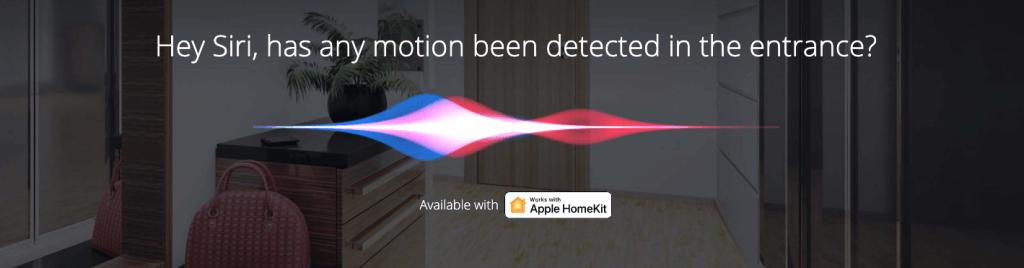 Siri pohybový senzor