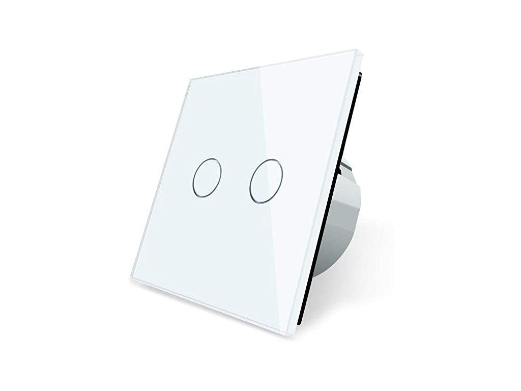Dotykový vypínač č.5 biely