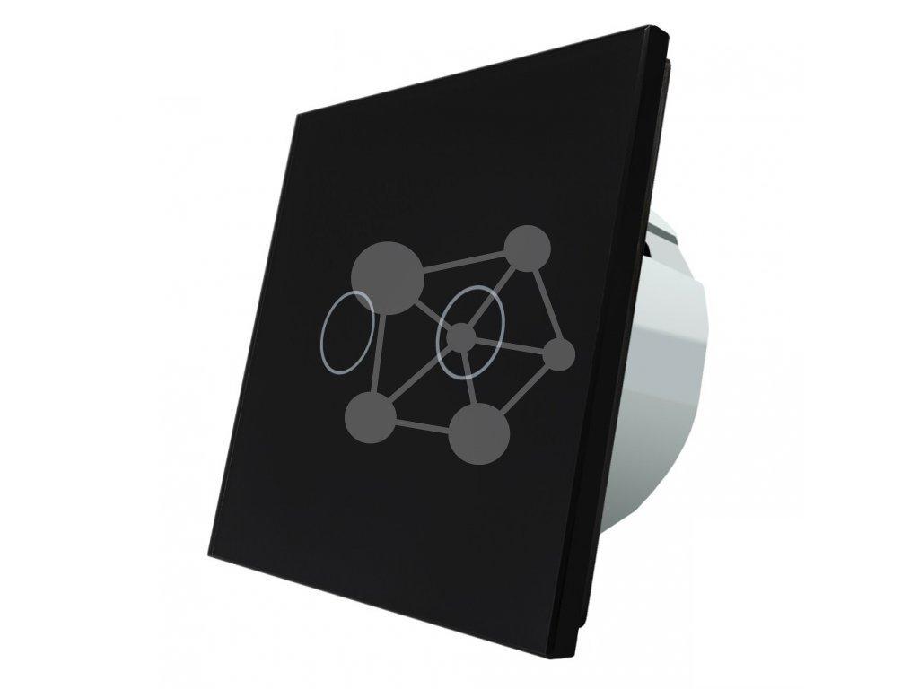 LIVOLO VL-C702S-12 Dotykový vypínač č.5B čierny