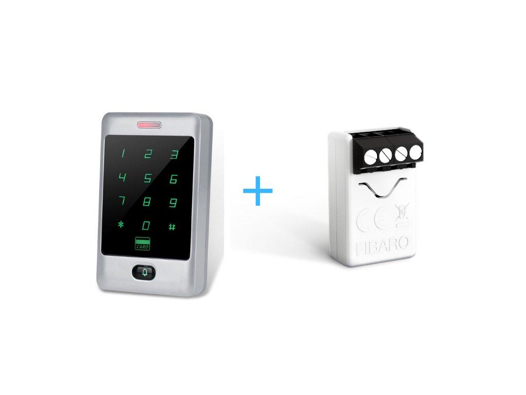 Fibaro Implant a klávesnica s RFID