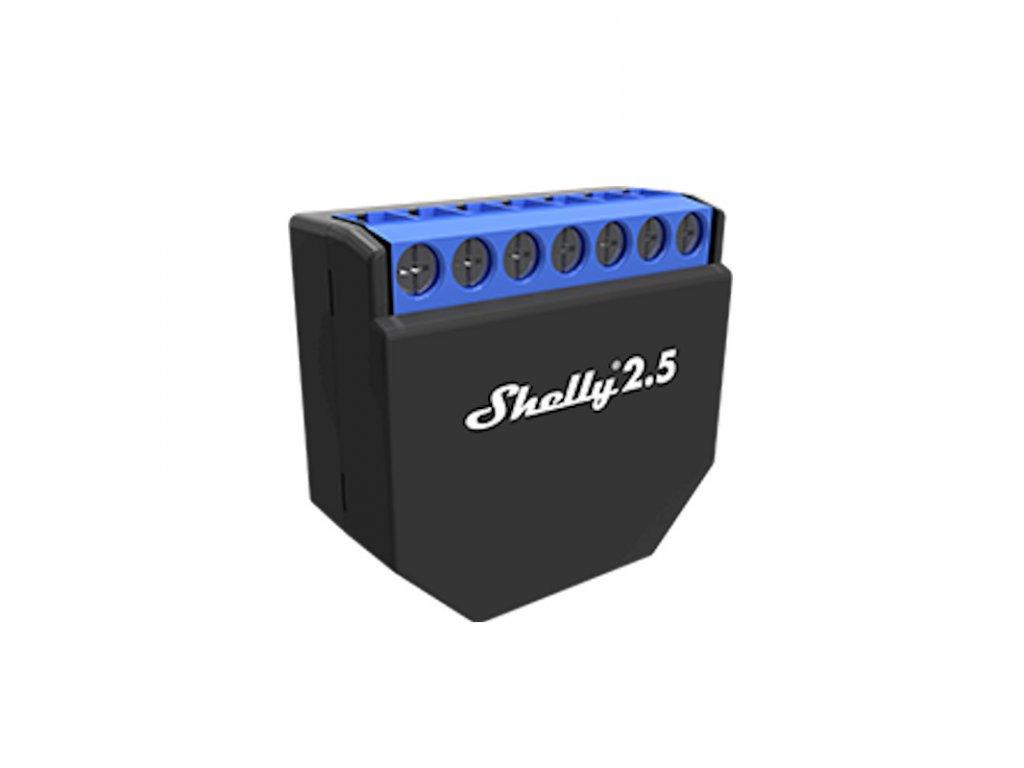 Shelly 2.5 - Wifi Relé/žalúziový modul
