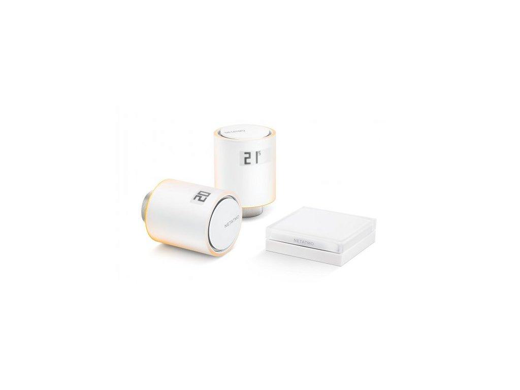 Inteligentné radiatorové hlavice Netatmo