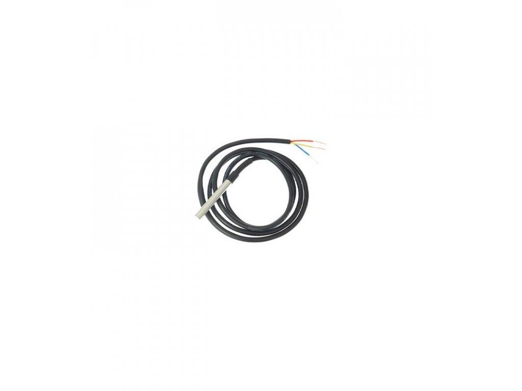 ds18b20 digital one wire temperature sensor for shelly temperature sensor addon for shelly 11pm