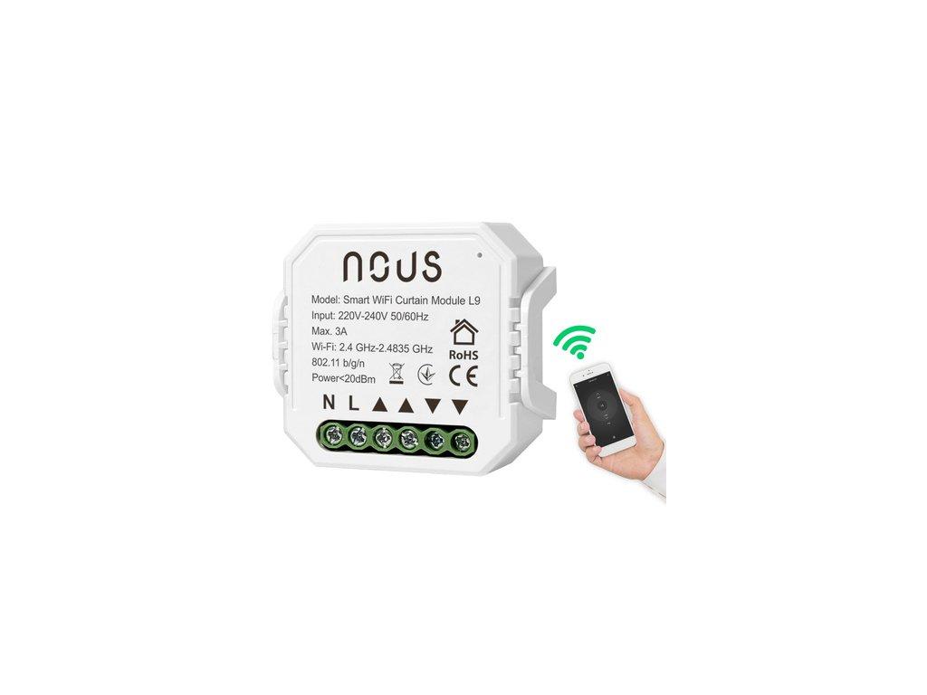 Nous Smart WiFi žalúziové relé