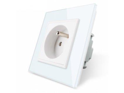 Elektrická zásuvka SK - biela