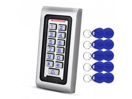 RFID klávesnica a Fibaro Implant