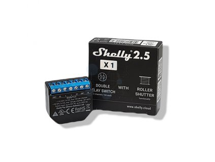Shelly 2.5 Wifi modul na smart home