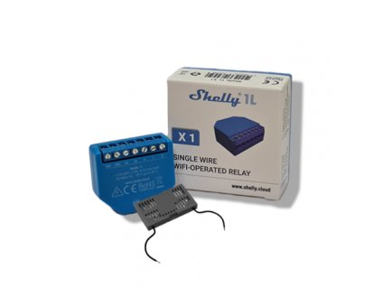 Shelly 1L + bypass