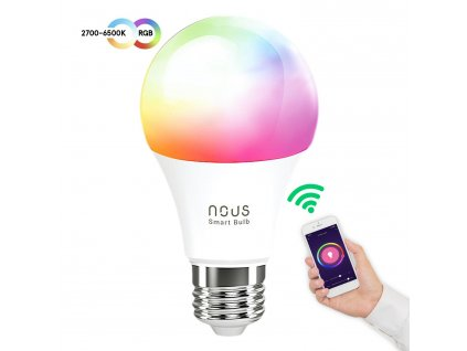 Nous Smart RGBW Žiarovka E27