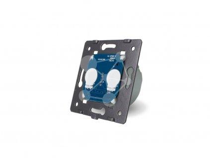 LIVOLO VL-C702IH-ND Bezpotenciálové tlačidlo č.2/0 (230V)