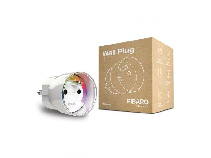 Zásuvka Fibaro typ E - Z-Wave Plus