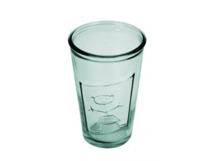 sklenice holka