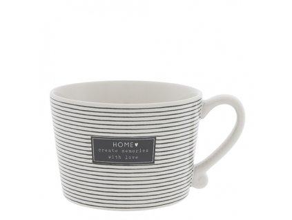 Cup White Create Memories in Black