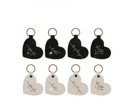 Klíčenka srdíčko / Keyring Heart 8x6 cm  Klíčenka srdíčko / Keyring Heart 8x6 cm