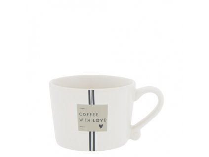 Cup White sm Coffee with Love