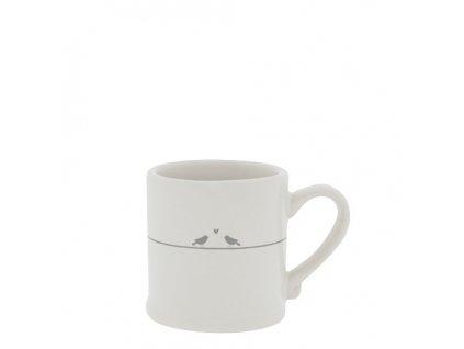 Espresso White Love Birds