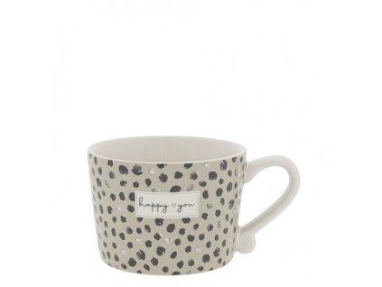 Cup White sm Confetti Happy You